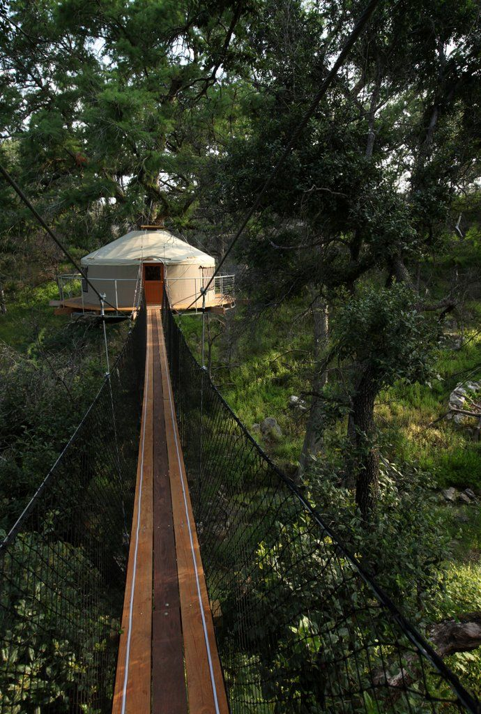 Cypress Valley Canopy Tours; Nature and Fall Colors Gallery | Austin, Texas (sleep in the trees!)