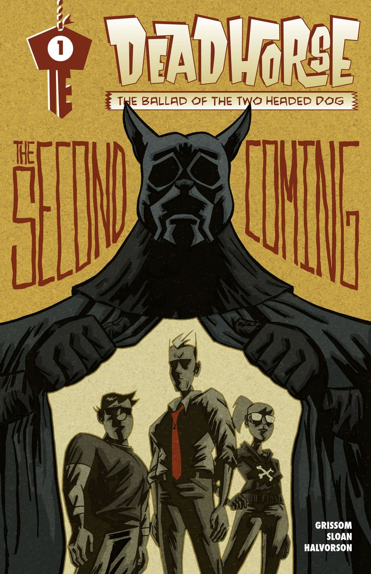 """The critically acclaimed comic Deadhorse returns with an all new series, """"The Ballad of the Two Headed Dog."""""""