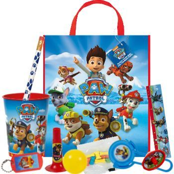 Paw Patrol Filled Tote Bag Party Supplies Canada - Open A Party