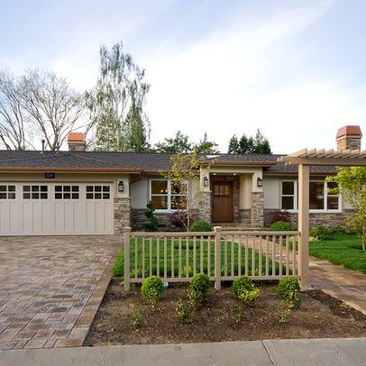 105 best ranch style house exterior update images on pinterest for Updating a ranch house exterior