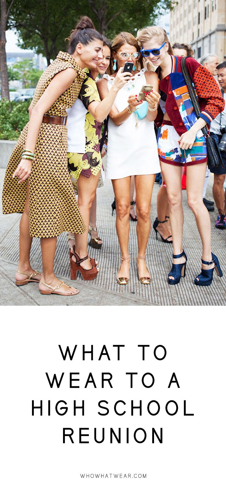 High school reunion coming up? Here are foolproof outfit ideas to ease your stress