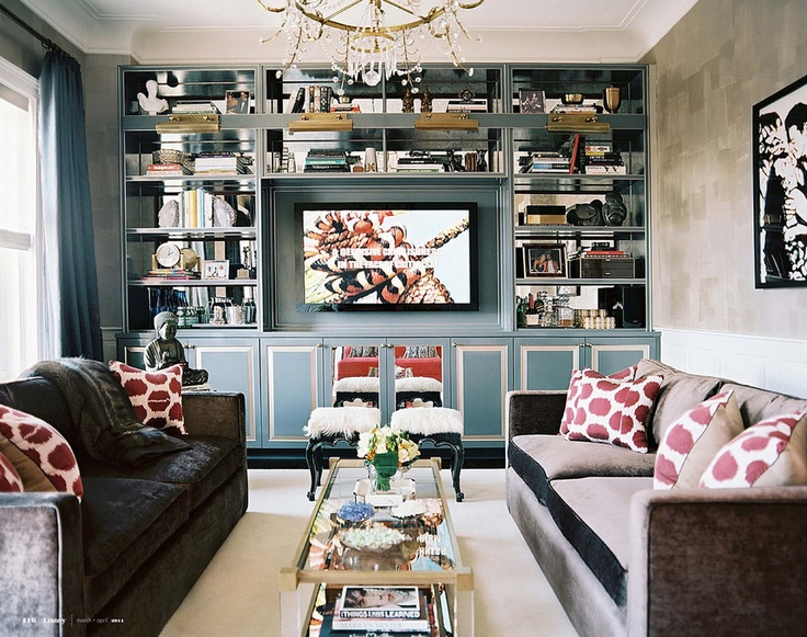builtins and tv lonny notes mirror glass