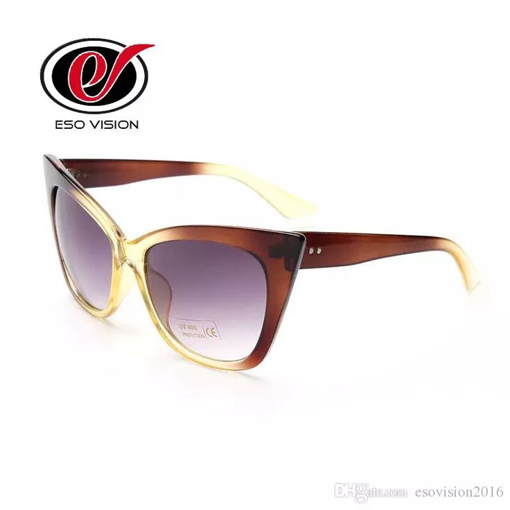 Cheap Plastic Cat Eye Sunglasses for Woman Black Butterfly Beach Sunglasses with Case for Sale Designer Brown Sunglasses China Cat Eye Sunglasses Butterfly Sunglasses Cheap Plastic Sunglasses Online with $8.11/Piece on Esovision2016's Store | DHgate.com