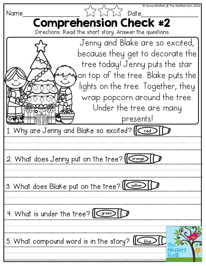 year 2 comprehension worksheets pdf