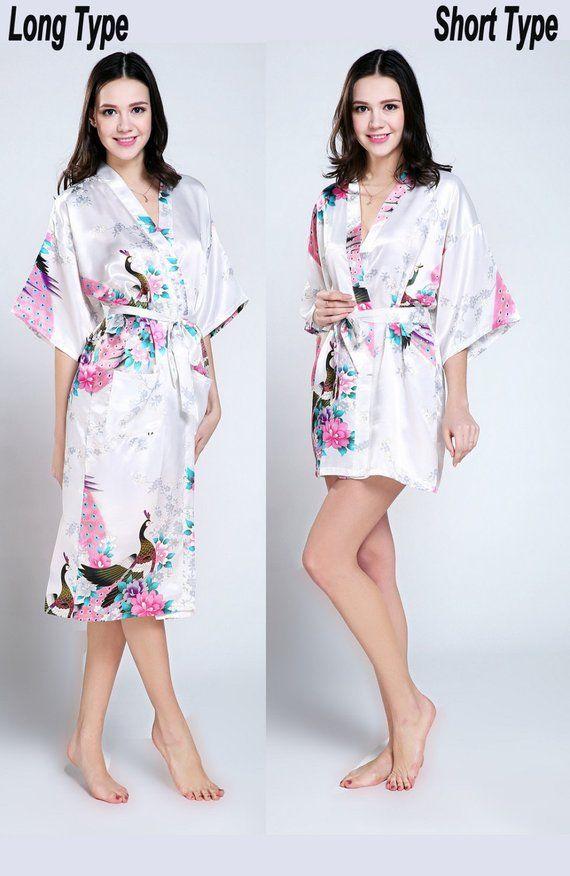 CD1 bridemaid gift bathrobe uk silk bridesmaids robes dress for wedding  kimono robe cotton primark d 79e471b4a