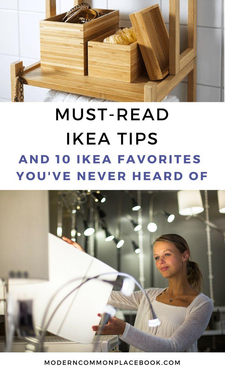 Must-Read IKEA tips and 10 unusual items you've never heard of! >> Home Decor, IKEA, hacks, DIY, House Decor