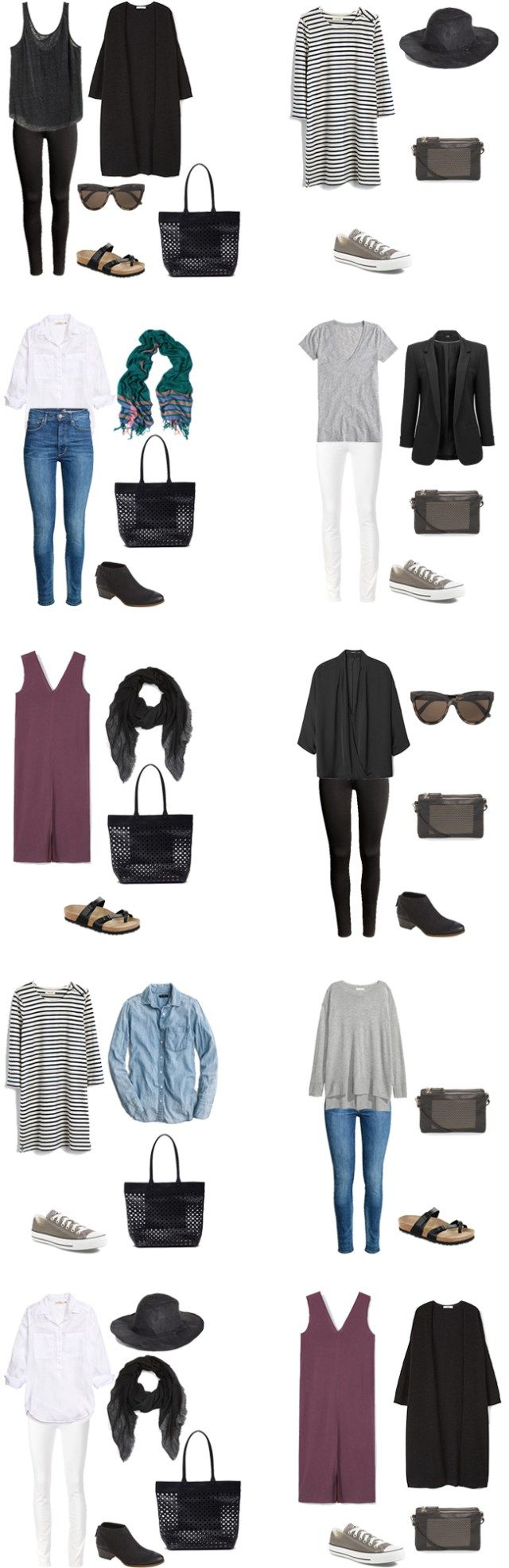 What to Wear in Stockholm Sweden Outfit Options 1-10 #travellight #packinglight…