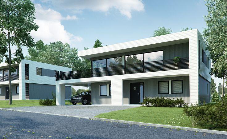 Kataloghus U- 410 moderne bolig på to plan!