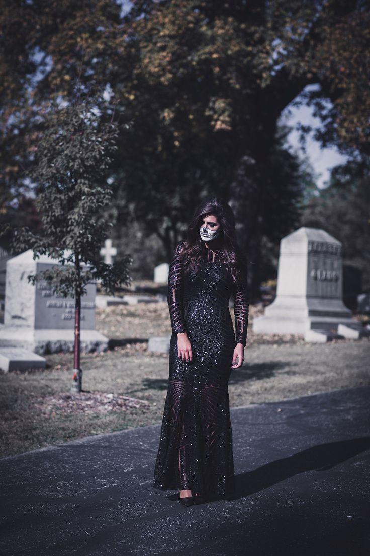 Halloween Skeleton Makeup - A Southern Drawl