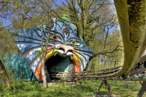 Spreepark, Berlin, Germany - An abandoned amusement park. To do it above board you can book a tour on a Saturday or Sunday via these people - http://www.berliner-spreepark.de/drfreizeitpark_buecher.php. This is a must for photography buffs.
