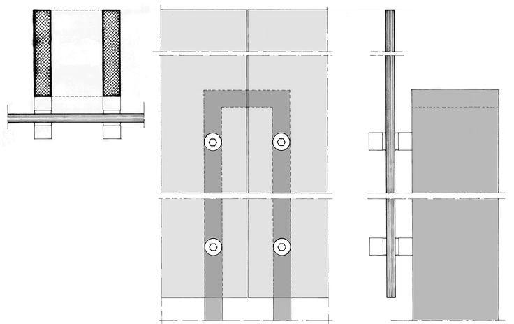 VILLA ON ALSOUS STREET IN EKALI 1978. DETAILS OF BALCONIES PARAPETS, PLAN, ELEVATION AND SECTION.