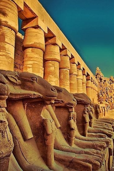 Karnak Temple - Luxor, Egypt. Travelled in August. The heat was unreal! Can't wait to go again.