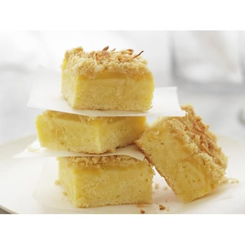 Coconut and pineapple slice recipe - By Australian Women's Weekly, Enjoy a slice…
