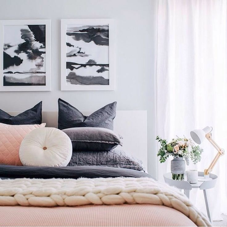 S T O R M Y   Wow so cool to see our @minigrandiartist prints in @adoremagazine featuring @oh.eight.oh.nine amazing styling of her guest room! Who wouldn't want to be a guest at her place! SHOP   http://daisychainstore.com.au/collections/all/mini-grandi-artist