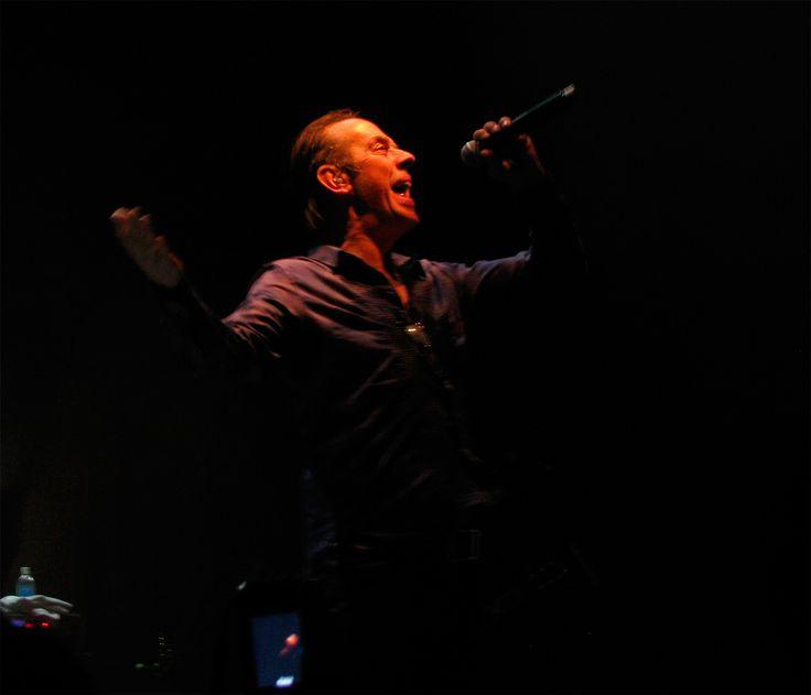 Peter Murphy en La Trastienda. Montevideo Portal / Gerardo Carrasco