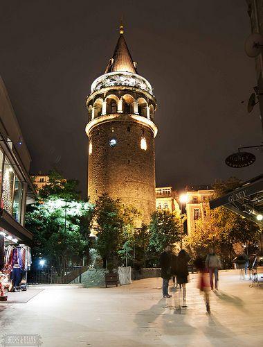 Galata tower wiew