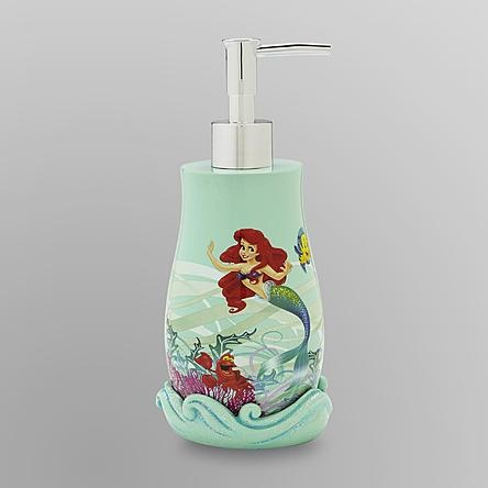 The Little Mermaid Bathroom soap dispenser