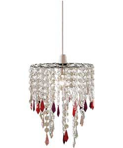 Buy Beaded Light Pendant - Multicoloured at Argos.co.uk, visit Argos.co.uk to shop online for Lamp shades