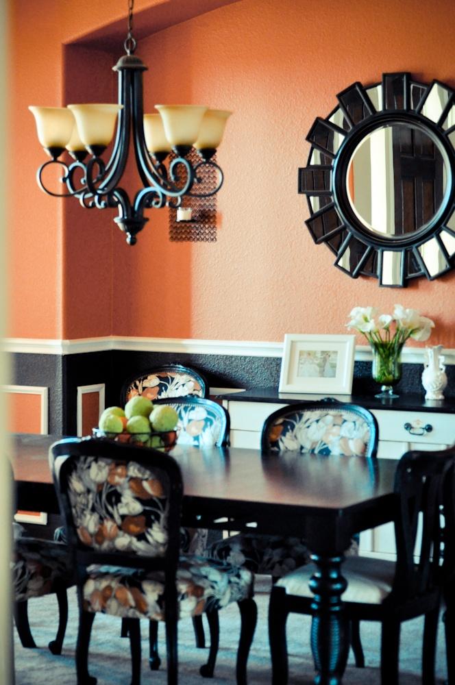 Best 25 burnt orange curtains ideas on pinterest burnt for Dining room ideas orange