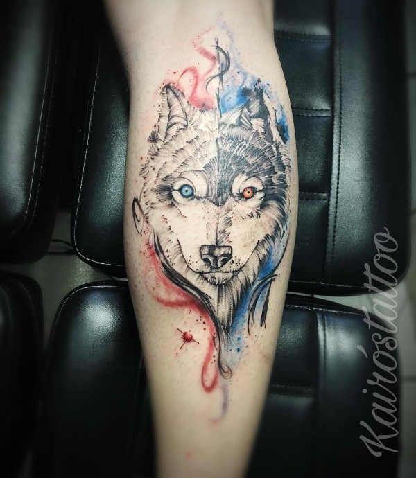 Tatuaż Wilka Znaczenie Historia 135 Zdjęć Pomysł Na