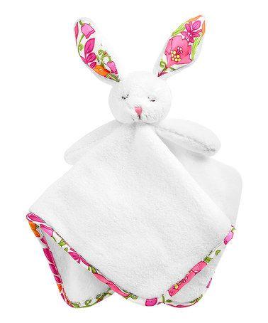 Lilli Bell Lovey Bunny Plush Lovey by Vera Bradley on #zulily