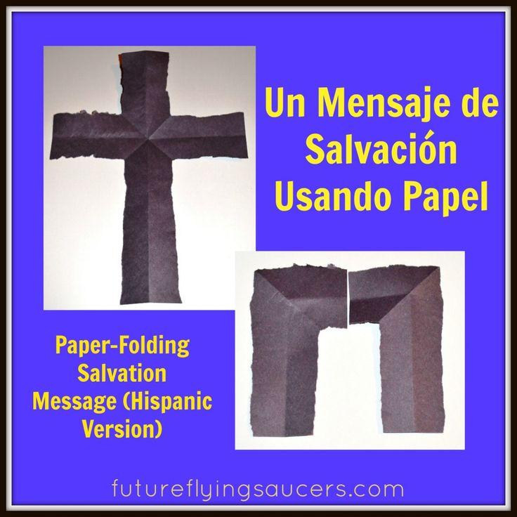 Un Mensaje de Salvación Usando Papel (Paper-Folding Salvation Message)
