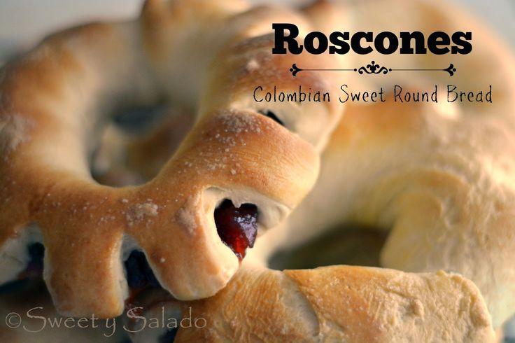 Roscones (Colombian Sweet Round Bread) // Roscones de Bocadillo y Arequipe