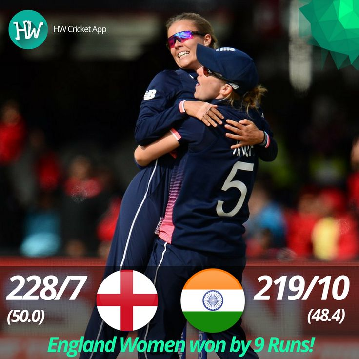 Fantastic win by England Women to win their 4th World Cup title! India Women were on the brink of victory but England took the cake! #WWC17 #ENGvIND #ENG #IND #cricket