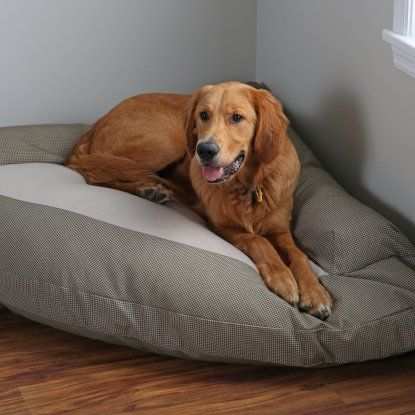 Hidden Valley Corner Bolster Dog Bed - Extra Large