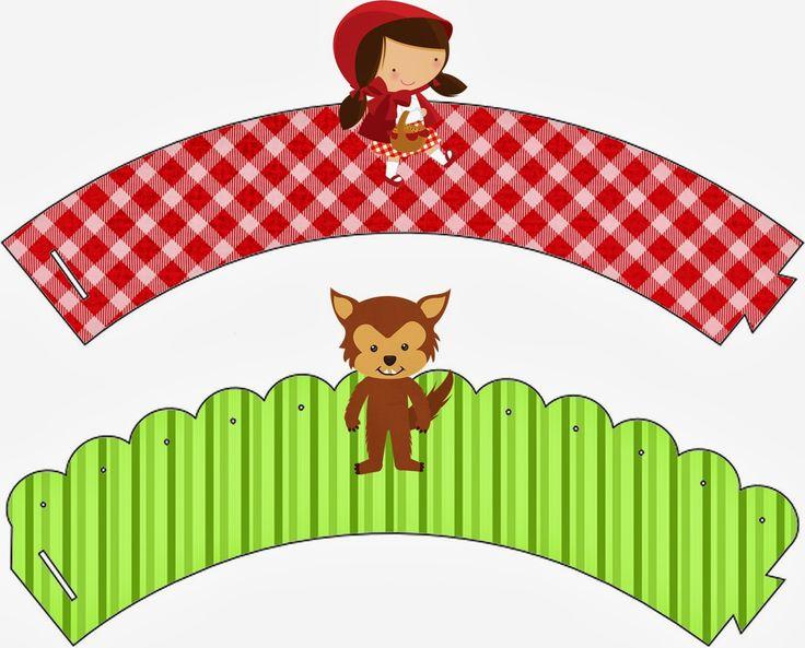 Fazendo a festa: Chapeuzinho Vermelho