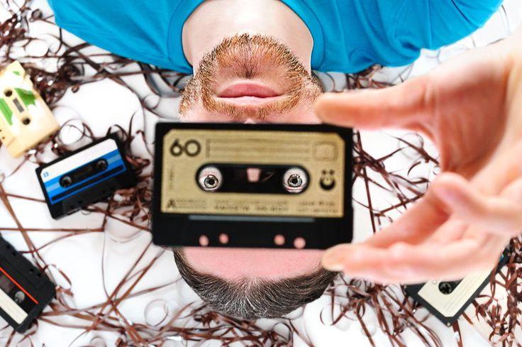 Retro tape portrait by Roman Rodionov on 500px