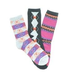 Fox Squirrel Crew Socks 3-Pack by @pacificlegwear for @UnionBay