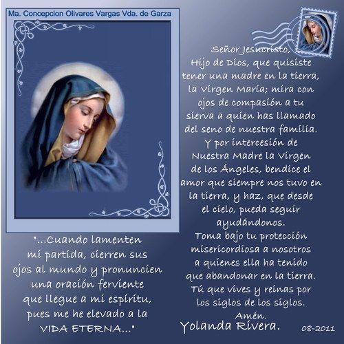 Oracion Por La Muerte De Una Madre Oraciones Varias