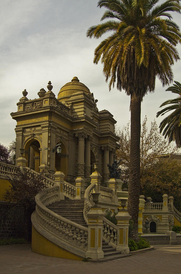 Definitely want wedding pictures taken here!!!!! Cerro Santa Lucia - Chile