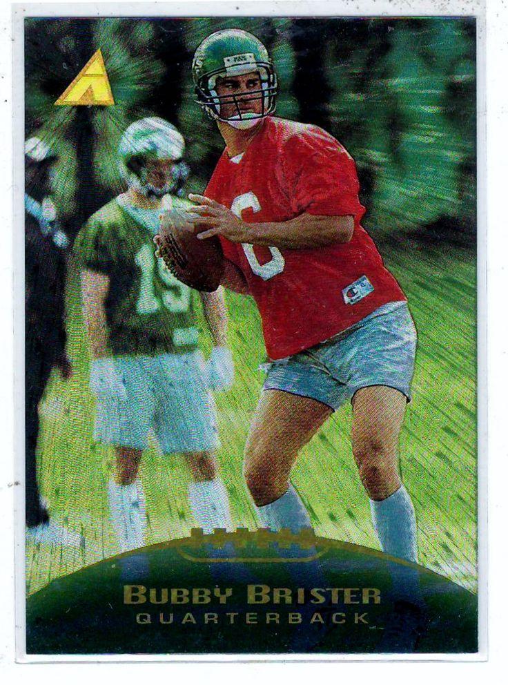 Sports Cards Football - 1995 Pinnacle Bubby Brister