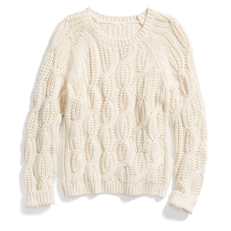 Stitch Fix Fall Stylist Picks: Chunky Cable Knit Sweater