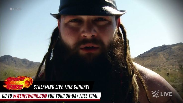 """This Sunday, Seth Rollins, you will look into the eyes of a ""god""... and for the first time you will see, and it will BURN!"" - Bray Wyatt on WWE Raw"