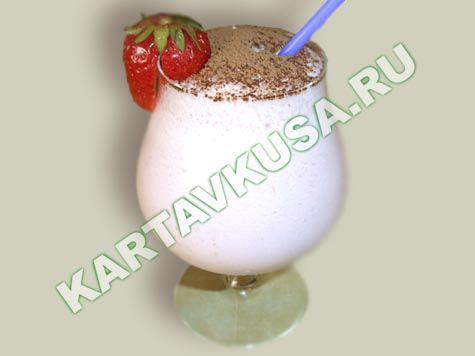 молочный коктейль с мороженым | пошаговый фото-рецепт