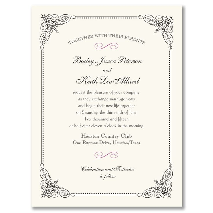 Black Vintage Frame Invitation.jpg (900×900)