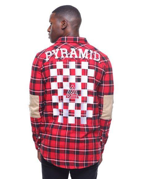 4b3df238ee98 Black Pyramid - Checker Plaid Shirt