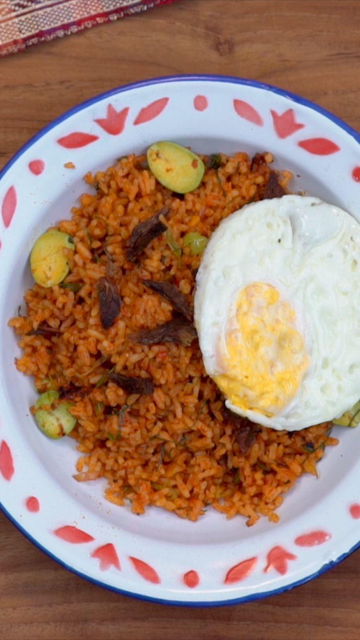 Nasi Goreng Minang Resep Makanan Ide Makanan Resep Makanan Asia