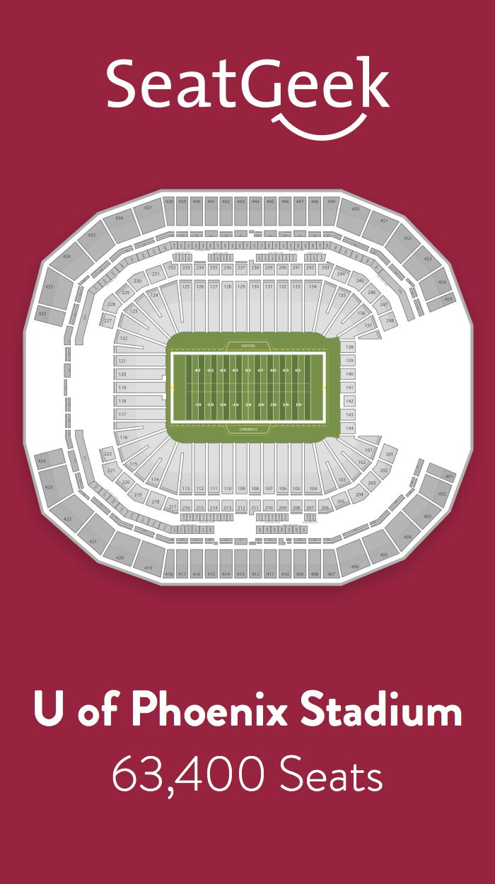 Find the best deals on Arizona Cardinals tickets and know exactly where you'll sit with SeatGeek.