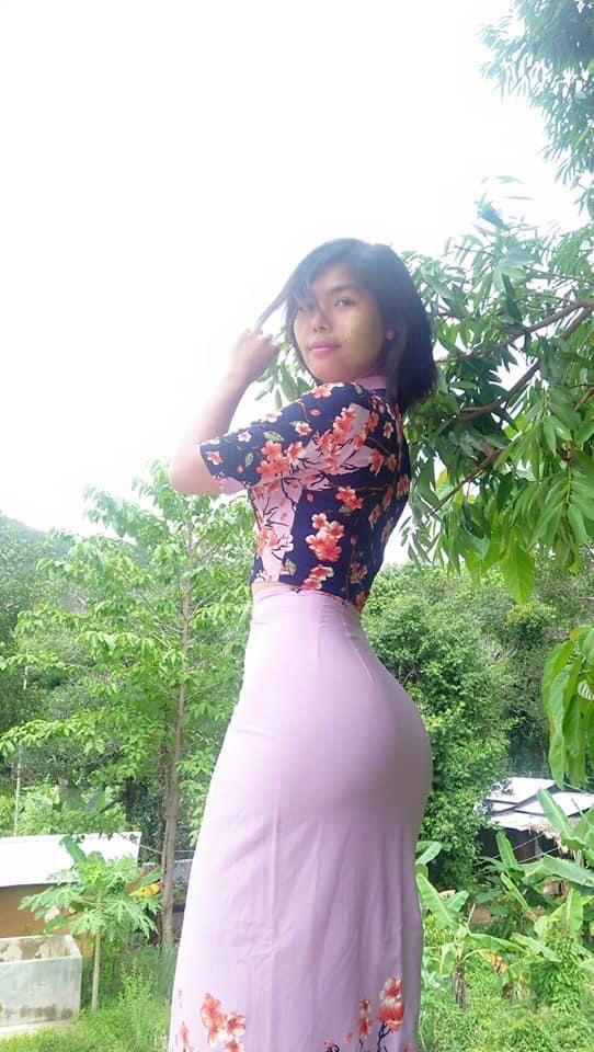 Pin on Myanmar girl