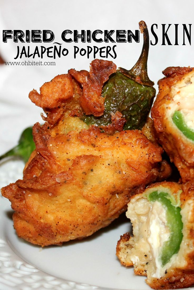 ~Fried Chicken Jalapeno POPPERS!