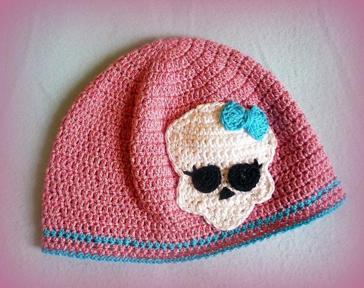 Free Crochet Pattern For Monster High Hat