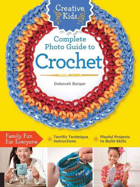 Are you looking for the perfect guide to teach your child to crochet? Look no further! Creative Kids Complete Photo Guide to Crochet starts with the absolute basics about stitching, beginning with a d