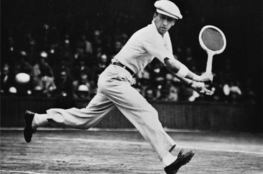 Who is this gamesome gallant? RENE LACOSTE circa 1925.