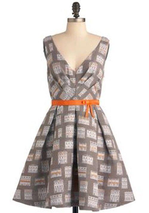Eva Franco Housewarming My Heart Dress New $419 Modcloth Size 6 #EvaFranco #Peplum #WeartoWork