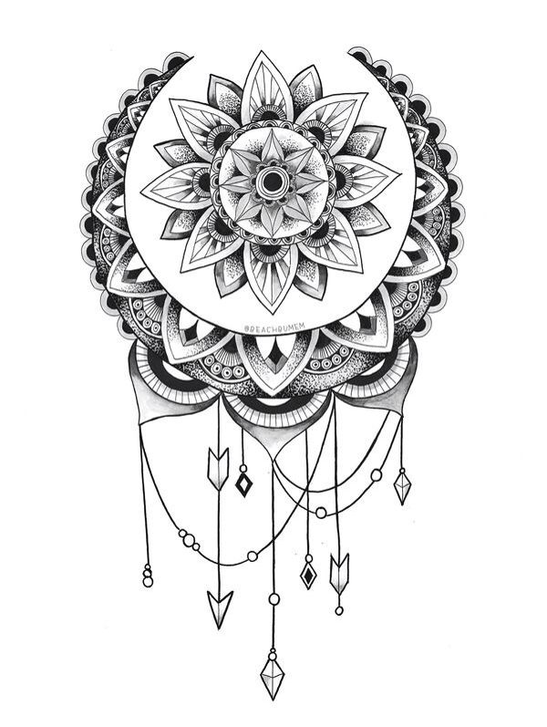 LOVE this the middle make into a sun the outer a moon maybe on side