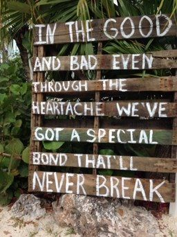 DIY Country Beach wedding- wood sign